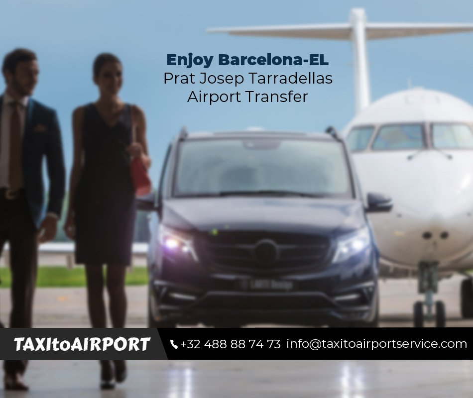 Nyd Barcelona-EL Prat Josep Tarradellas lufthavnstransport