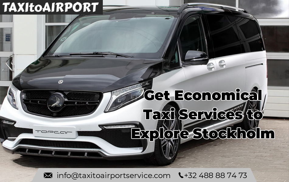 Book Taxi for Stockholm Arlanda Airport comfortably