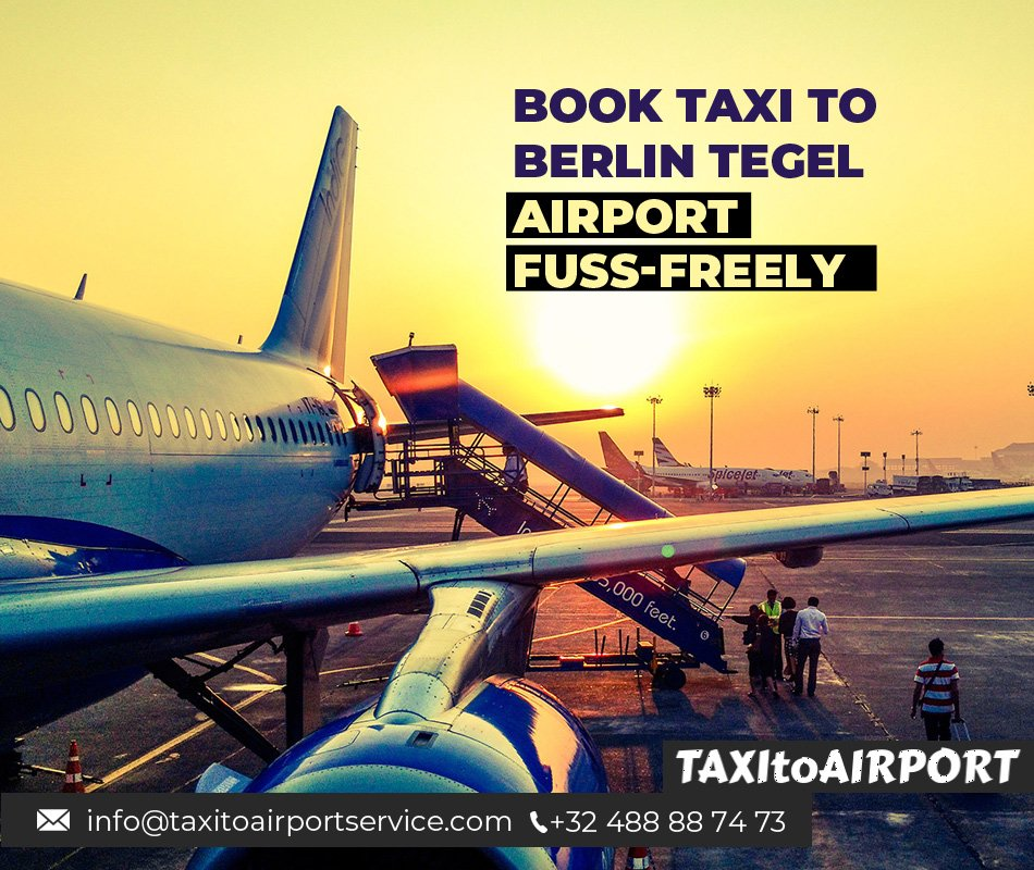 Book Taxi to Berlin Tegel Airport