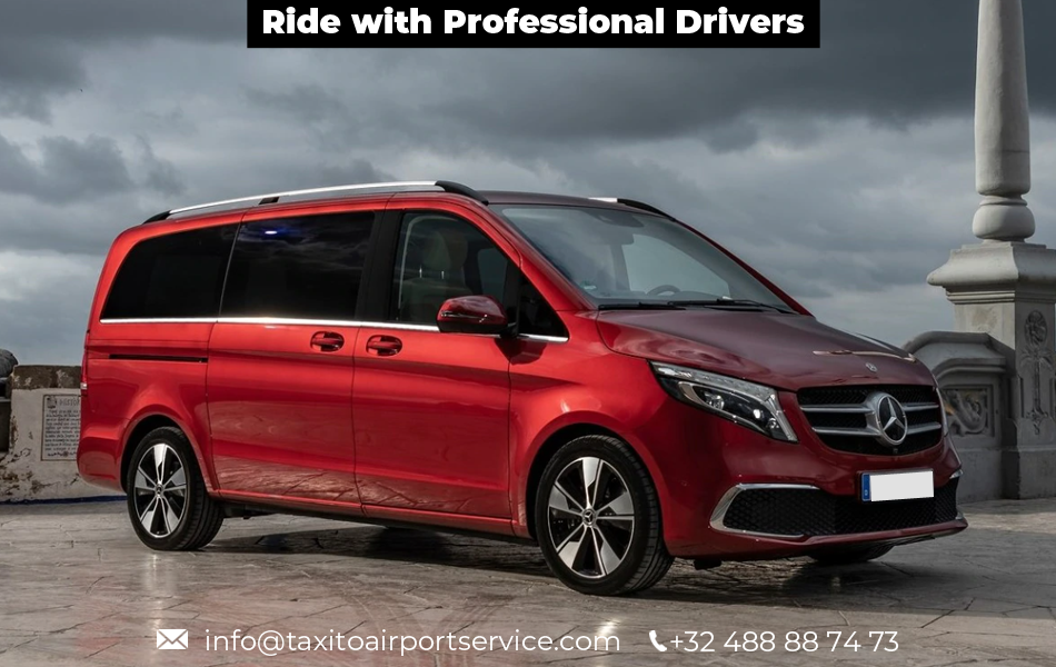 Ride with professional drivers